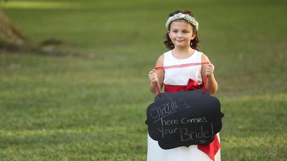 Cute flower girl signs rock!