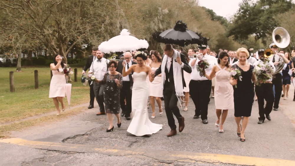 Secondline Umbrellas - Bride Film