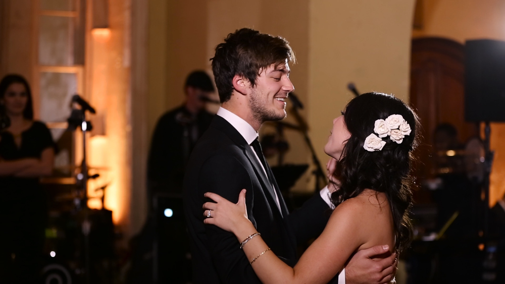 First dance smiles...