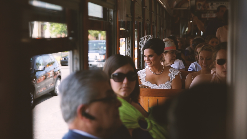 New Orleans StreetCar - Bride Film