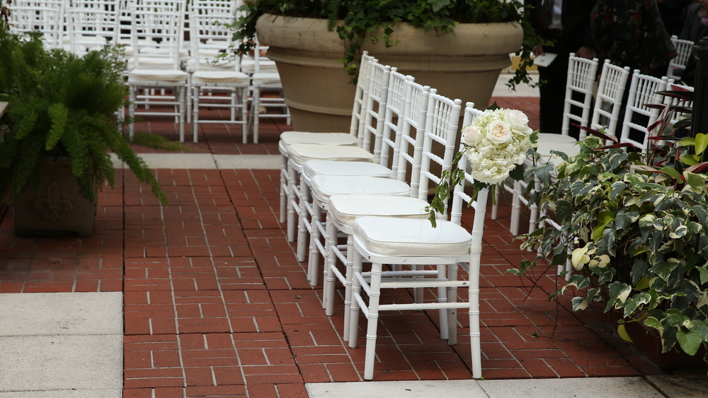 Ceremony Chairs - Bride Film