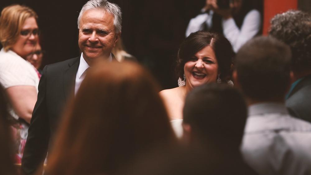 Courtyard Wedding - Bride Film