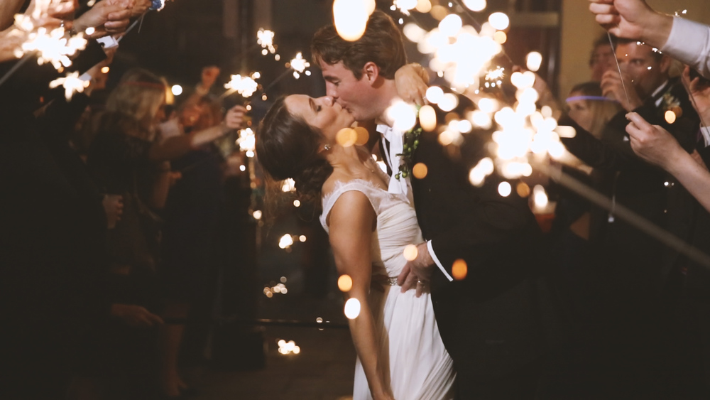 Sparkler Kiss - Bride Film