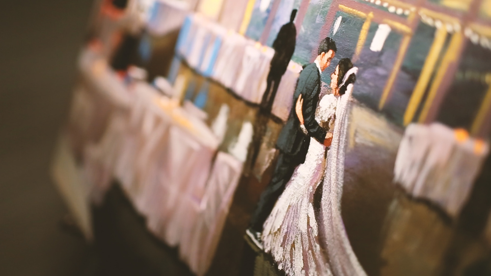 Live Painting - Bride Film