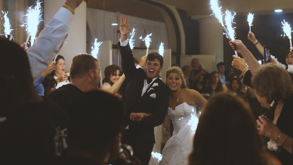 Sparkler Exit - Bride Film