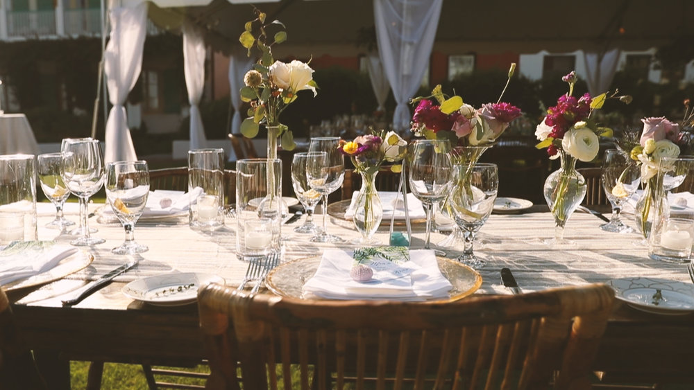 Tablescape - Bride Film