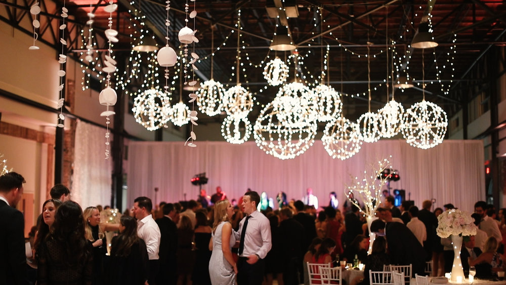Reception Lighting - Bride Film