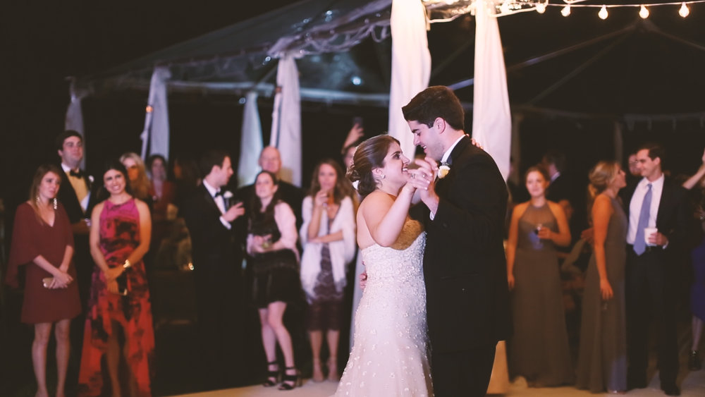 Longue Vue Garden Wedding Videographers New Orleans Tent Reception - Bride Film