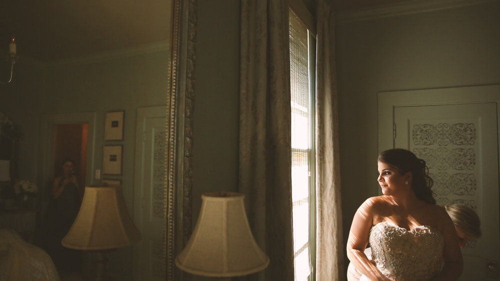 Longue Vue Garden Wedding Videographers New Orelans Bride Prep - Bride Film
