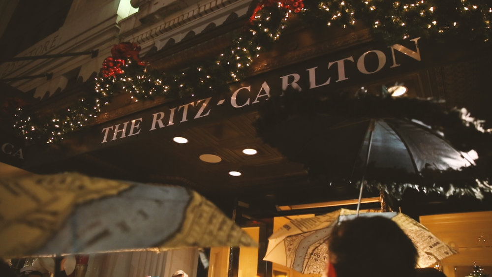 New Orleans Ritz Carlton Wedding Videographer Bride Film