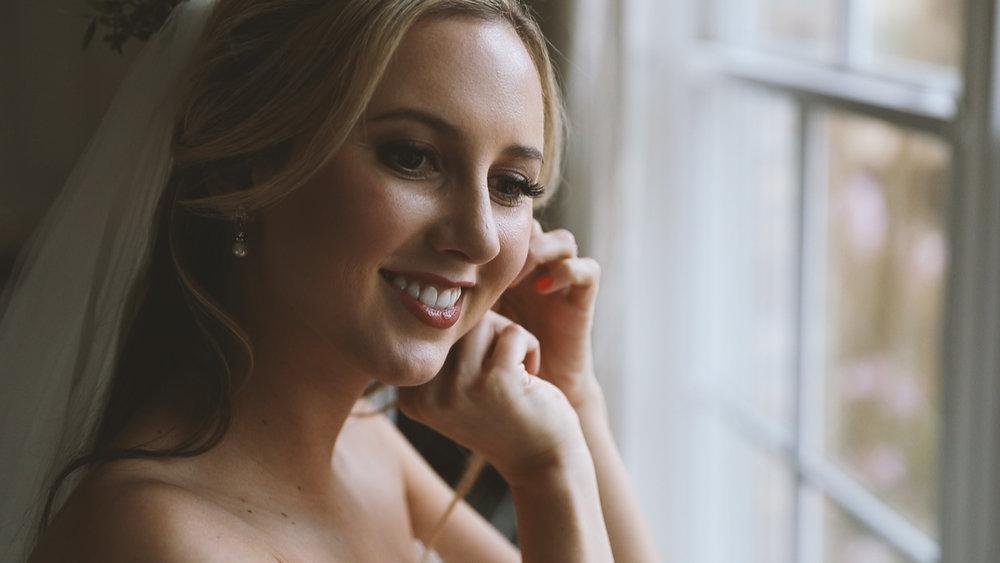 Wedding Earrings - Bride Film