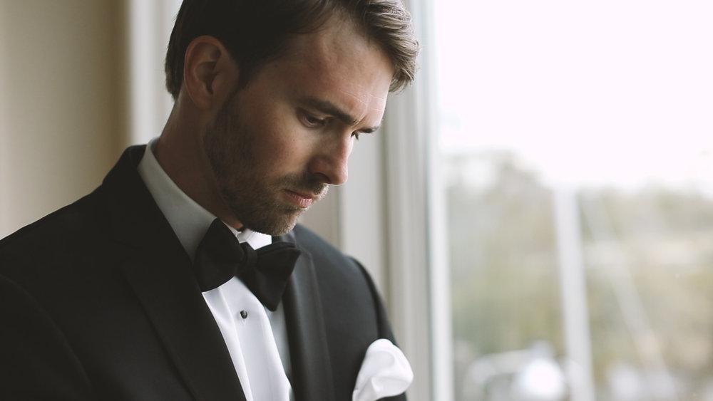 Groom Getting Ready - Bride Film