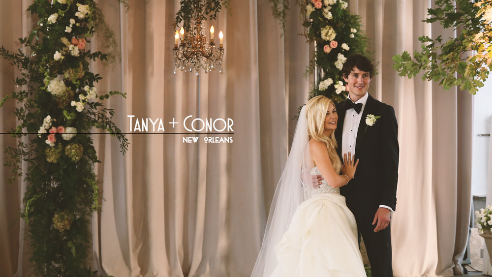 Watch Tanya and Conor's Marigny Opera House Bride Film HERE.