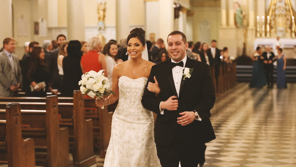 Watch Rachel and Glenn's St. Louis Cathedral Bride Film HERE.