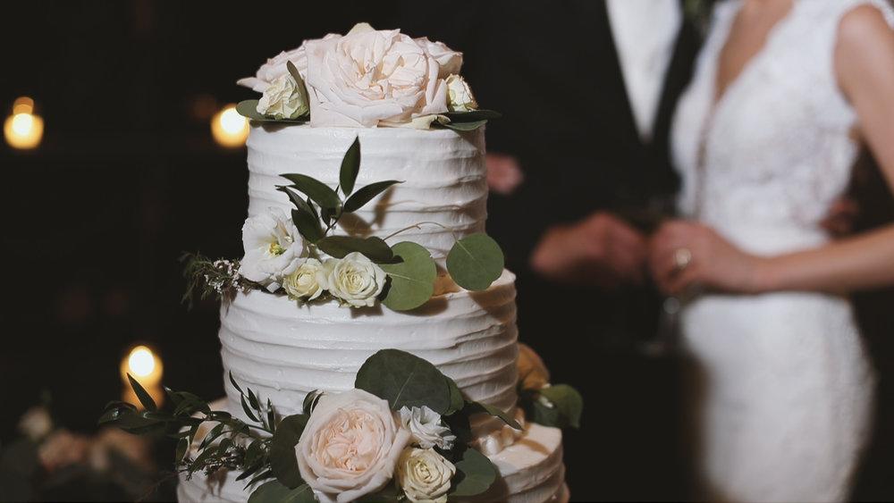 Destination Wedding Videography_Houmas House Plantation_Pastel Cake