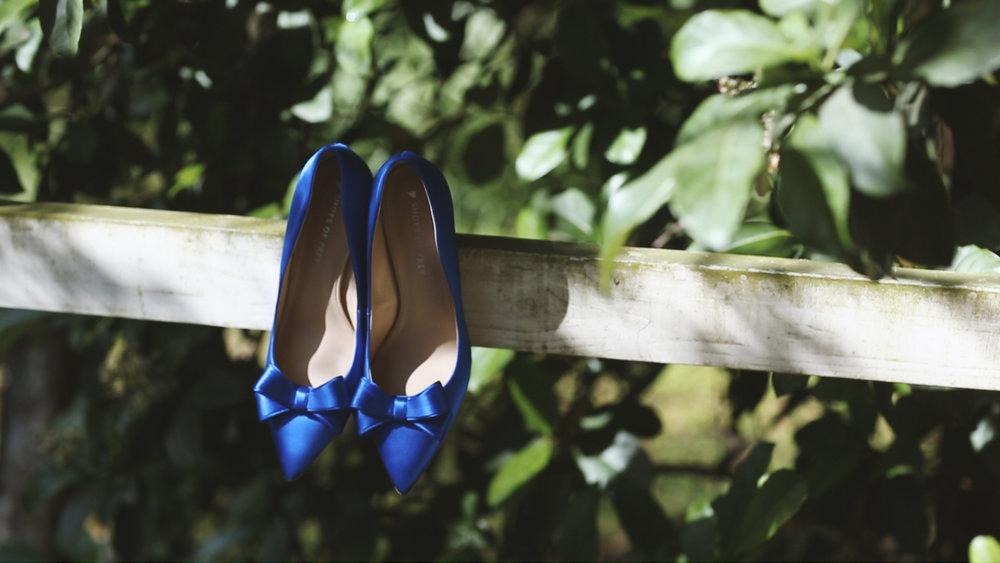 Destination Wedding Videography_Bride Film_Houmas House Plantation_wedding shoes