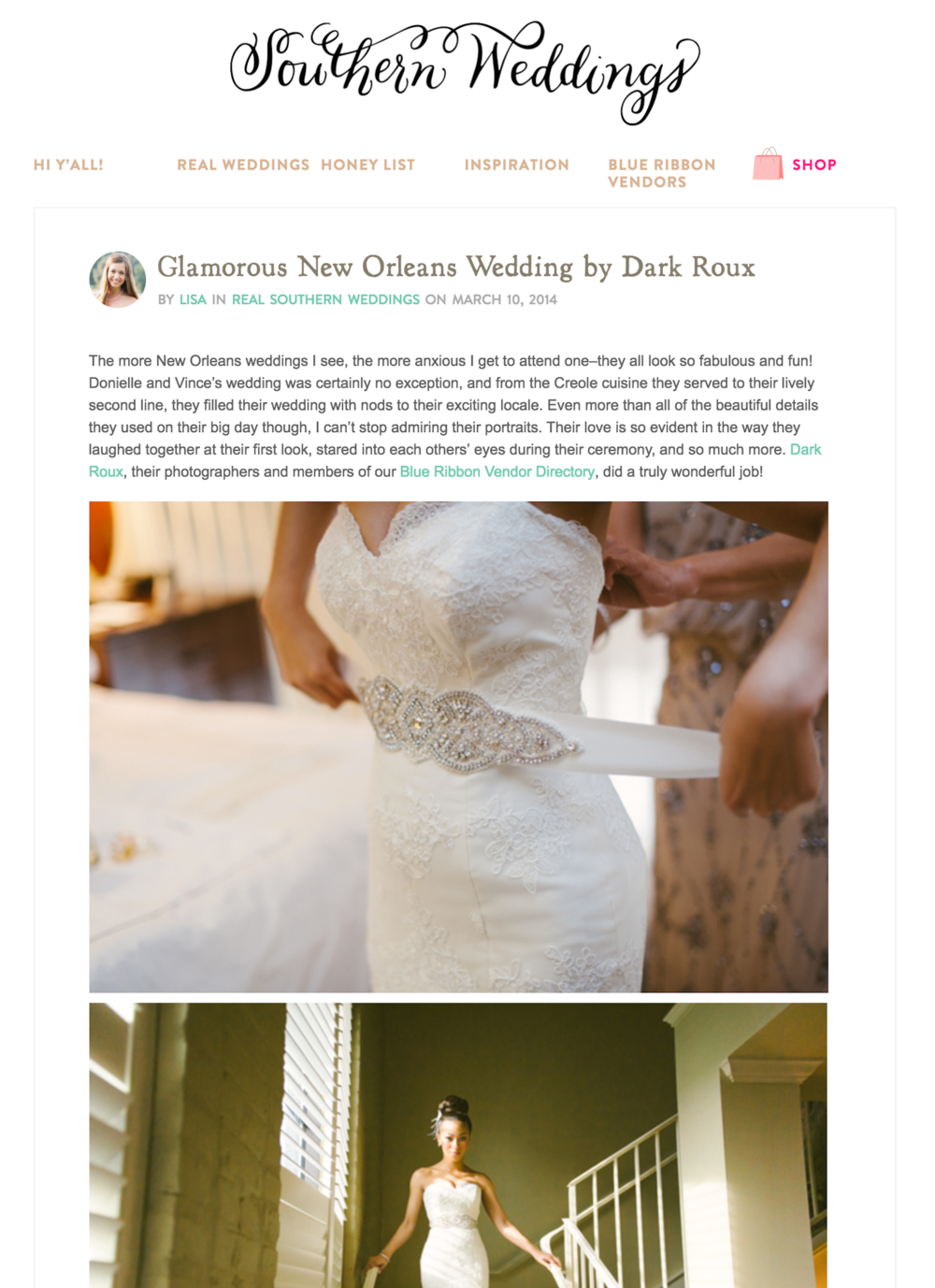 Southern Weddings Glam Dark Roux Feature.png