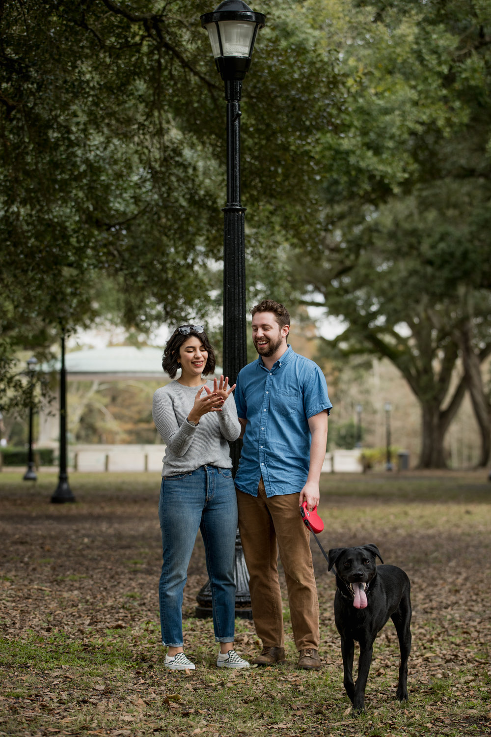Audubon Park Engagement Session