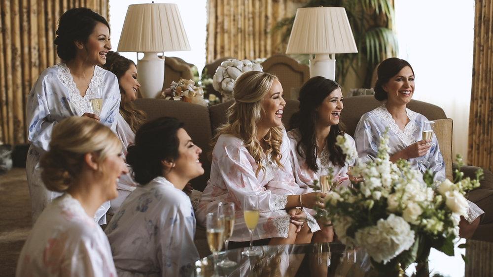 Hotel Monteleone Wedding Bridesmaids - Bride Film