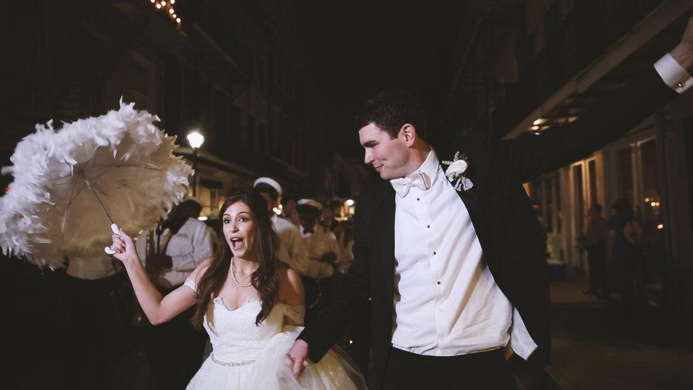 French Quarter Second Line - Bride Film