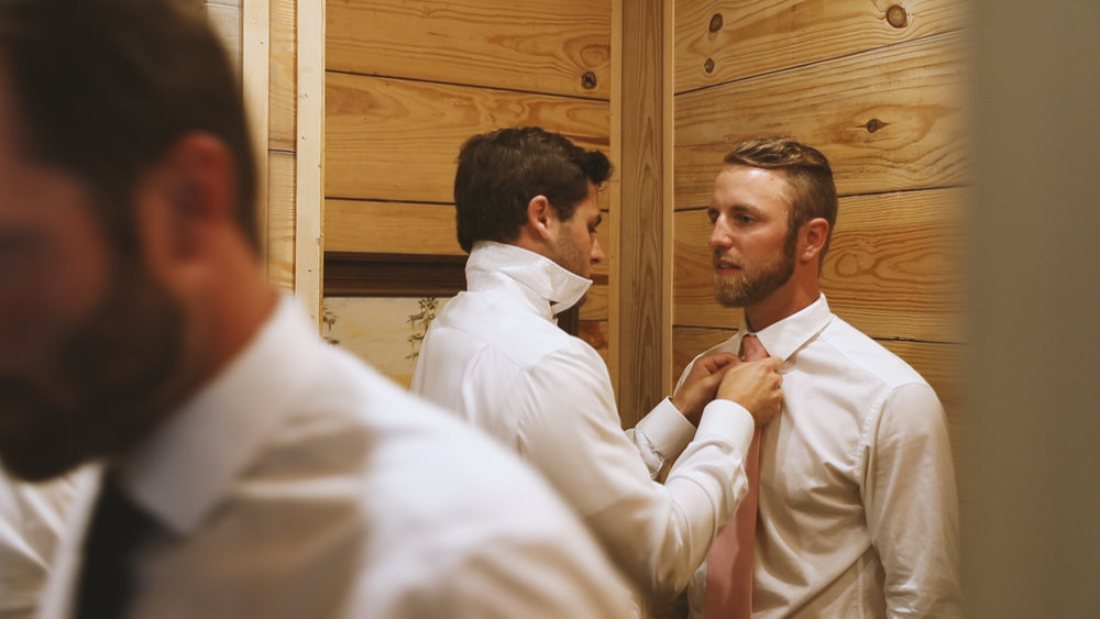Amanda and Hayden_The White Magnolia Farm Weddings_New Orleans videographer_Groom style