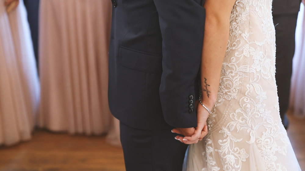 Amanda and Hayden_The White Magnolia Farm Weddings_New Orleans videographer_Wedding first look