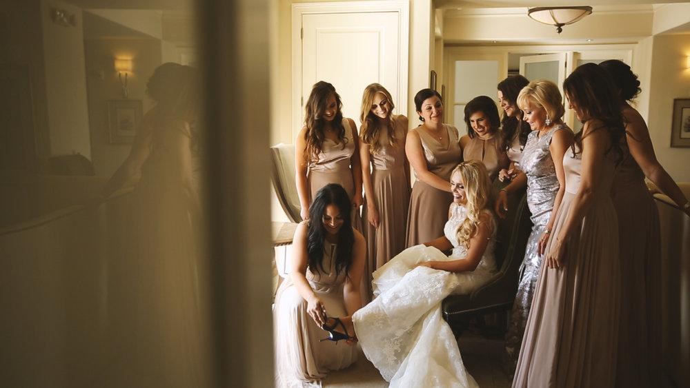 BrideFilm_Baton Rouge Wedding Videography_bridal prep shoes