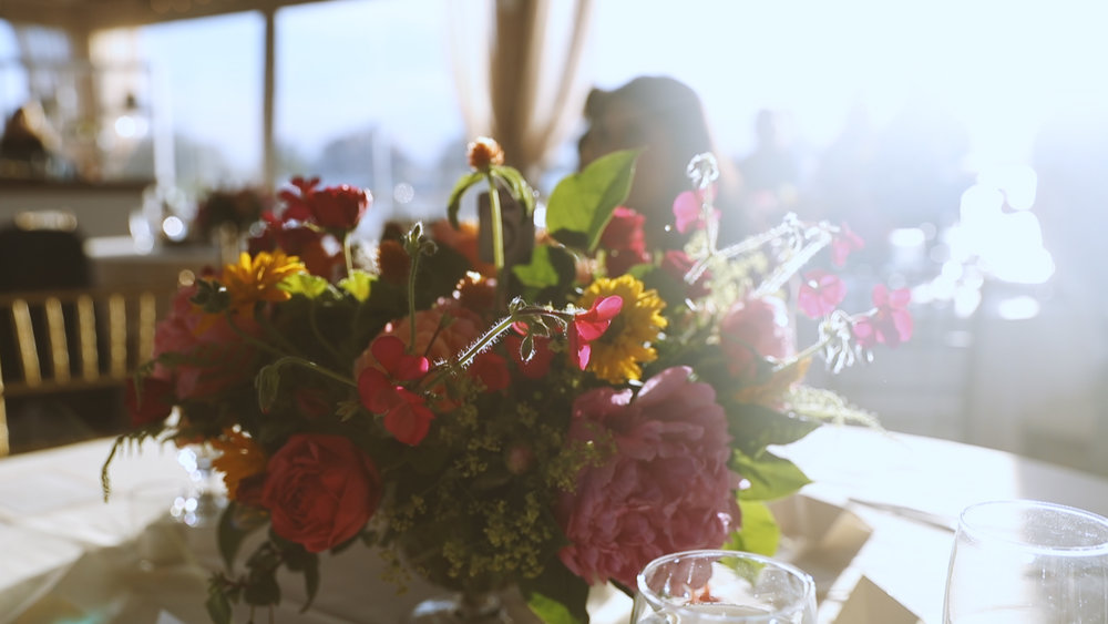 Newport Rhode Island Wedding Video - Bride Film - rehearsal dinner decor