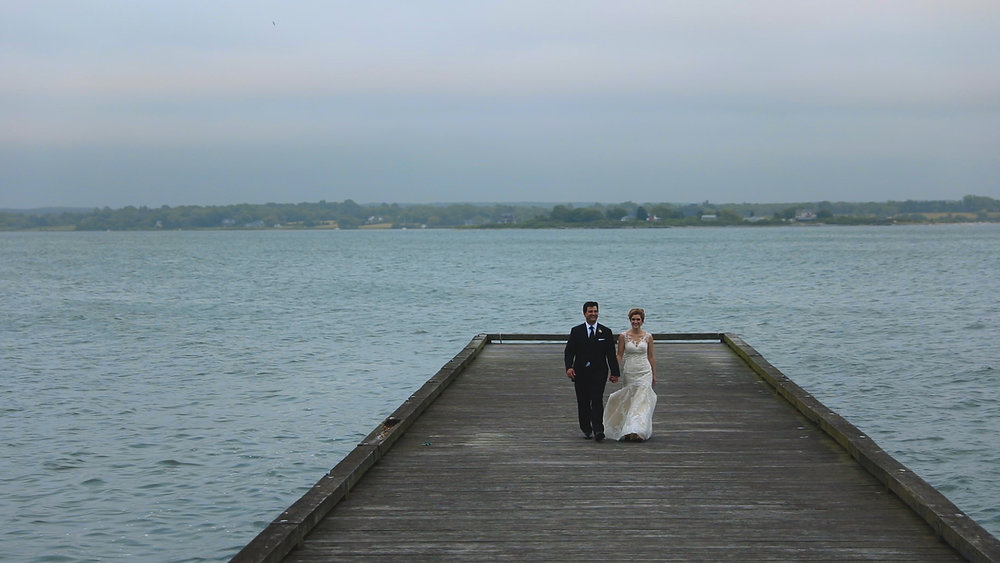 Newport Rhode Island Wedding - Bride Film - Bride and Groom style