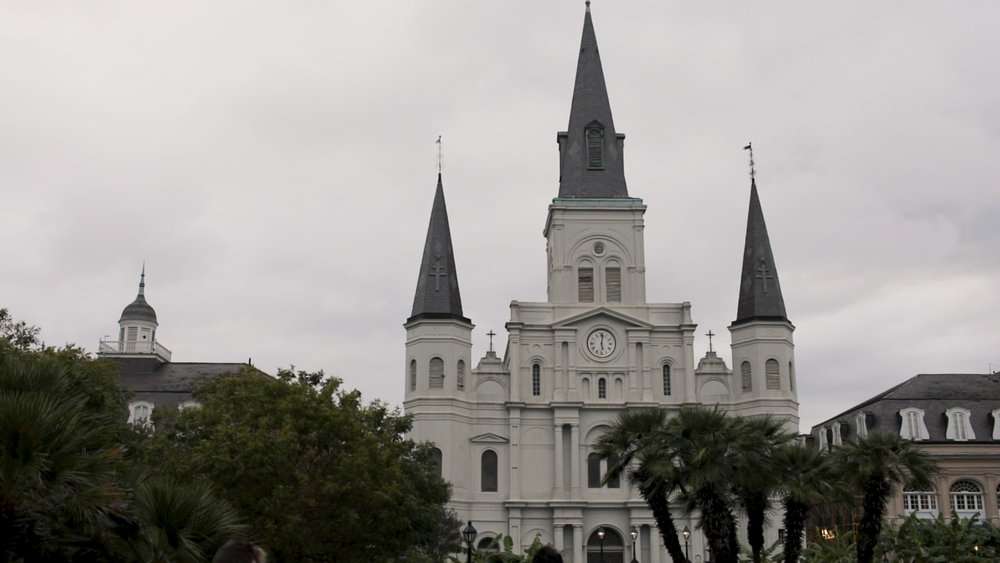 New Orleans Wedding Videography_Marianne and Clark_St Louis Cathedral Wedding
