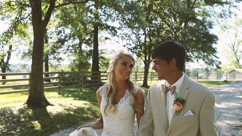 Romantic, Intimate Farm Wedding