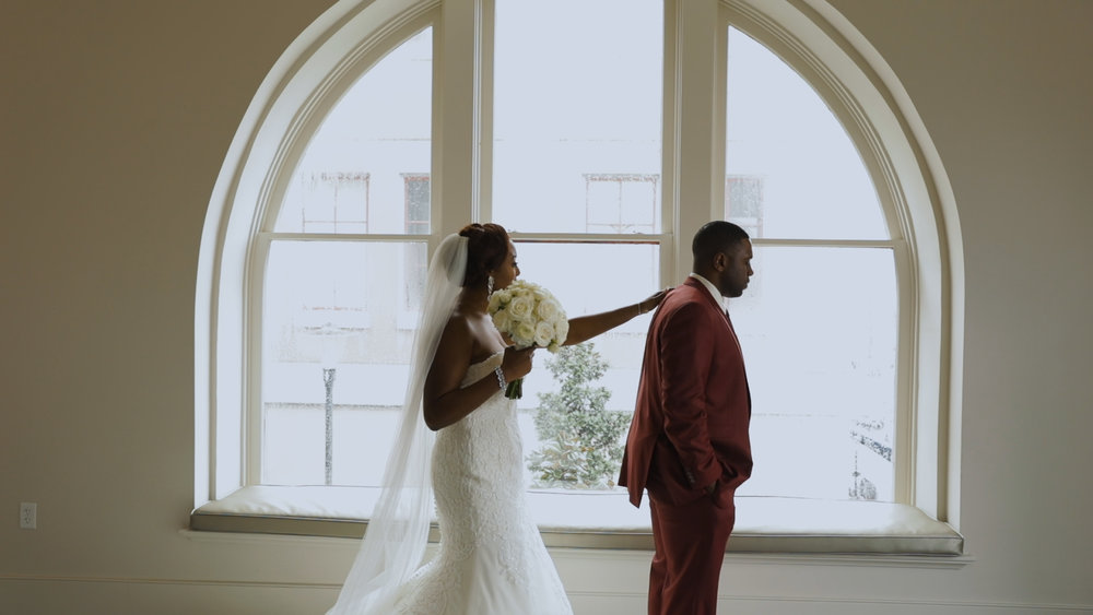 New Orleans Wedding video_Fallon and Devon_First look