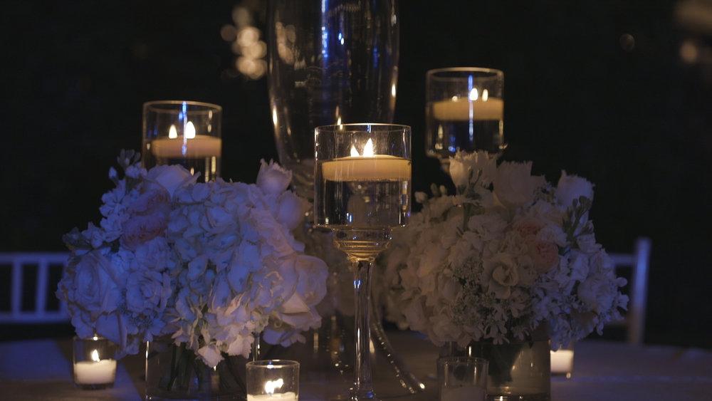 New Orleans Wedding Video_Elms Mansion_Paige and Travis_reception florals