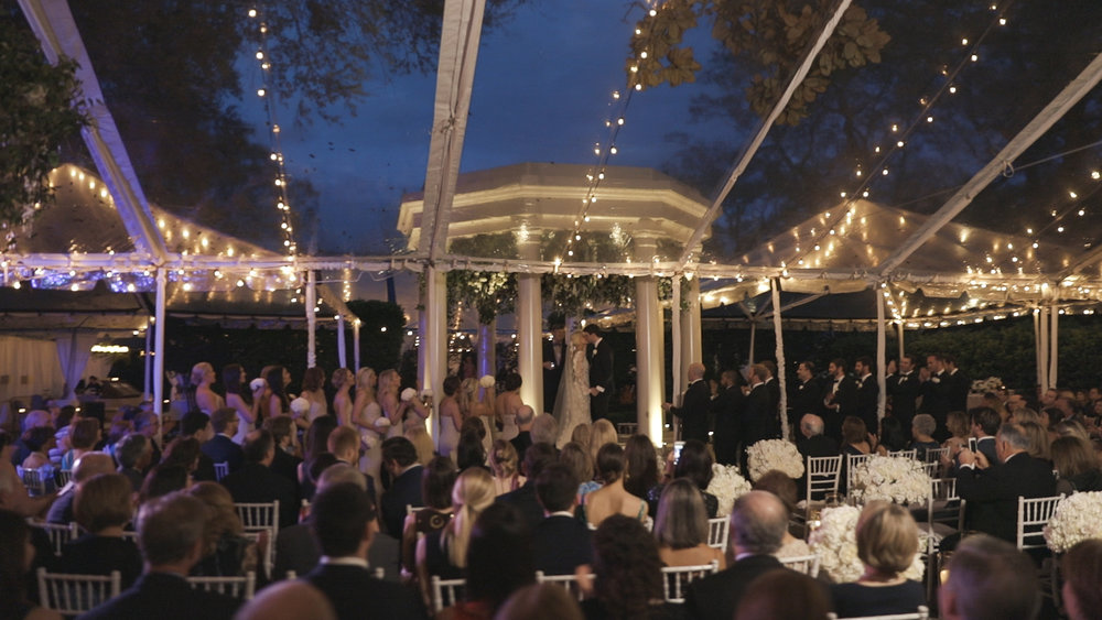 New Orleans Wedding Video_Elms Mansion_Paige and Travis_outdoor ceremony