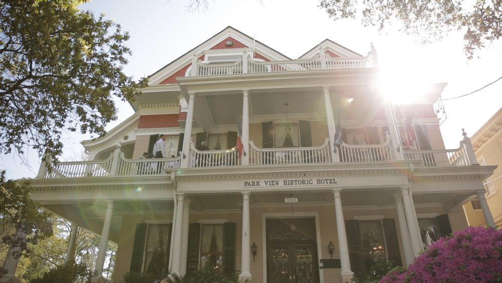 New Orleans Wedding Video_Elms Mansion_Paige and Travis_Marchesa wedding dress prep location