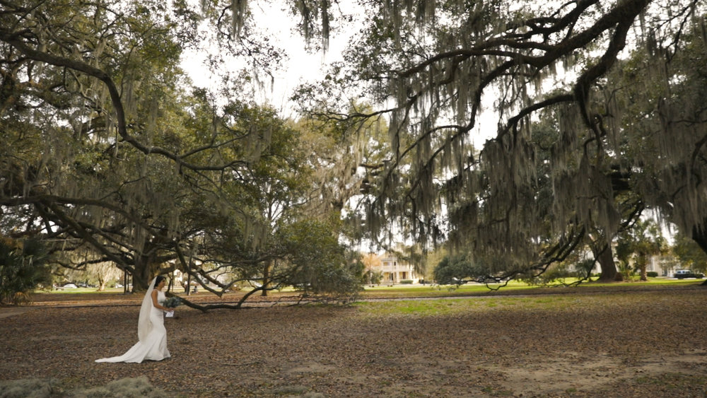 Anya and Max_New Orleans Wedding Video_Bride Film_Peristyle City Park_First look