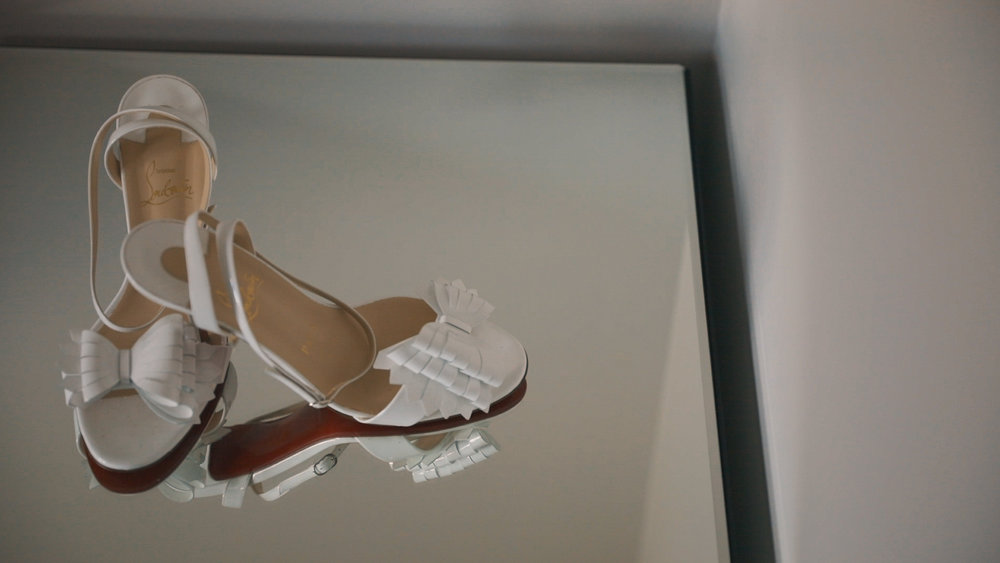 Loubiton Wedding Shoes - Bride Film