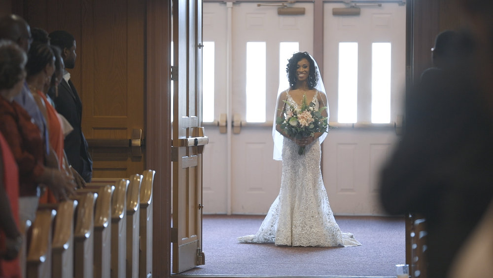 Franklin Avenue Baptist Church Wedding - Bride Film
