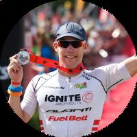 Triathlete Cameron Brown