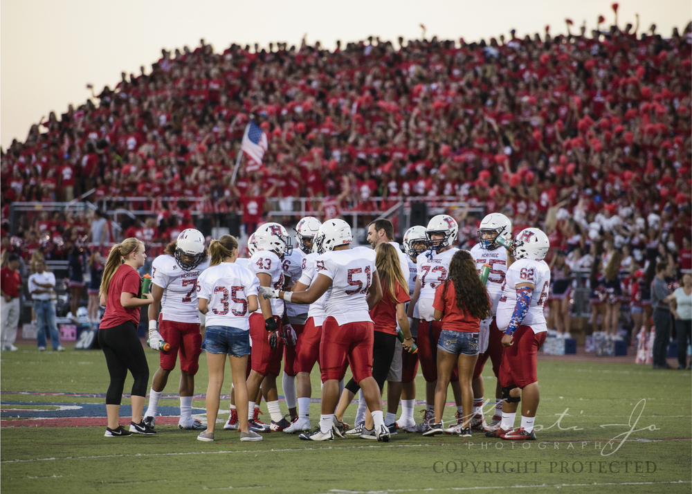 "Loved Great Oak's School Spirit!  The ""Red Wave"" was awesome to watch!"