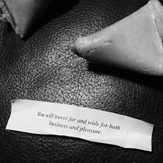 Got my new year fortune read by @verity.winter via a cookie which seems extremely reliable to me. Here's to 2019, happy new year friends.  #fortunecookie #happynewyear