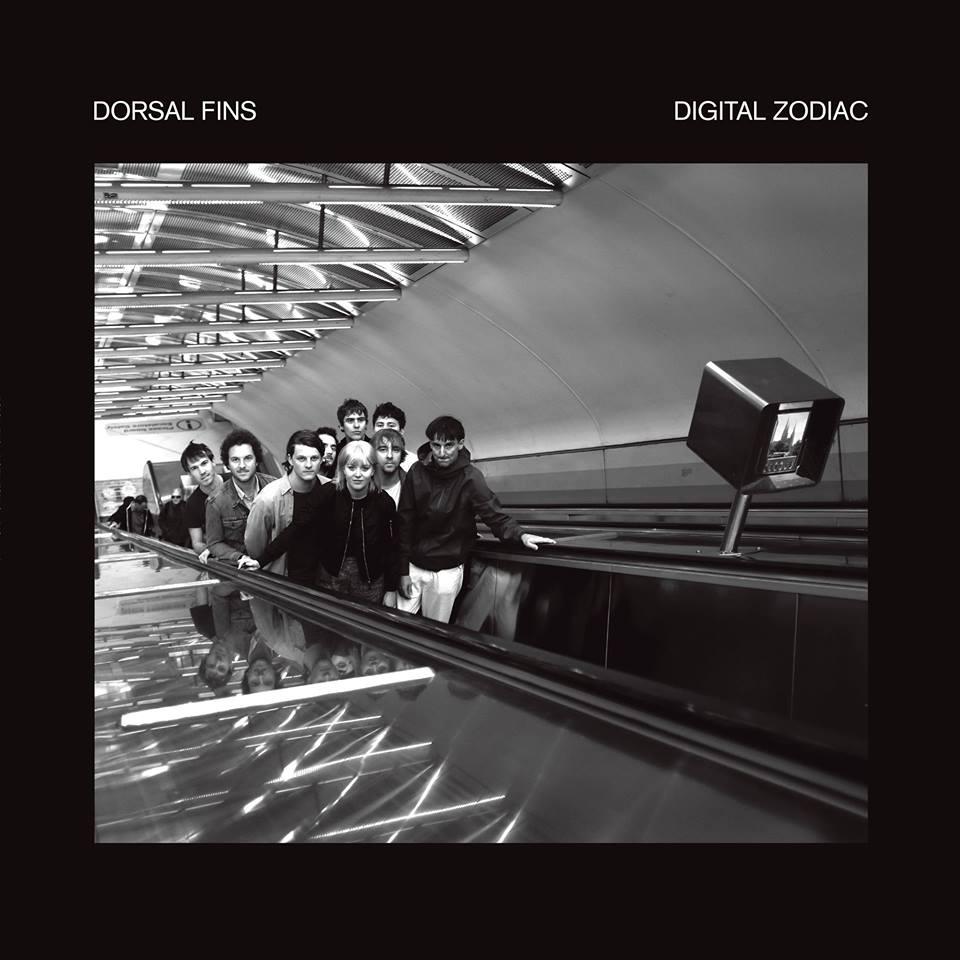 Digital Zodiac  By Dorsal Fins  Album artwork by Marcelle Bradbeer
