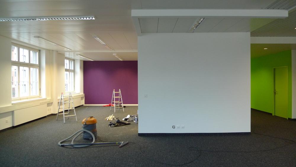 Umbau Büroräume Limmatquai Zürich