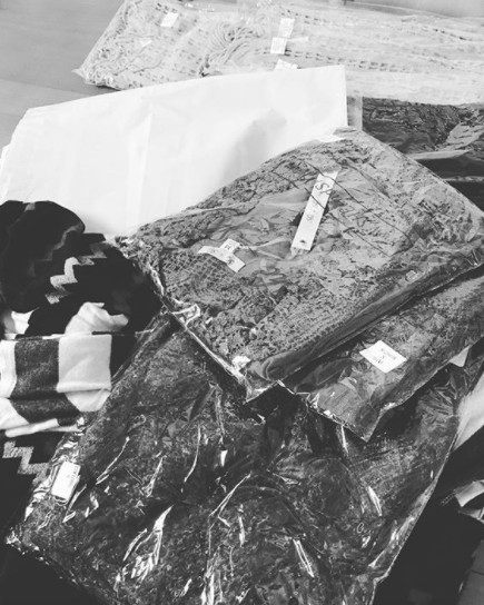 Clothing shipments ready to go out to the amazing ILB customers!     Photo from of   @ironandlaceboutique
