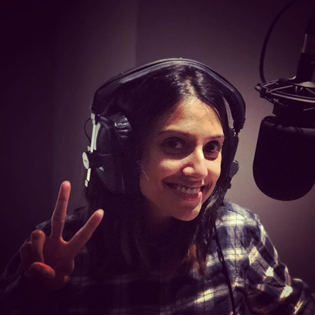 Such a joy working with you today @rituarya  #keepingitreel  #artofvoiceover