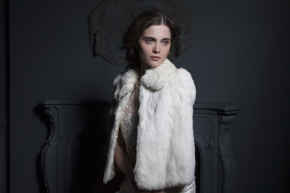 Vintage fur Cape by Halfpenny London