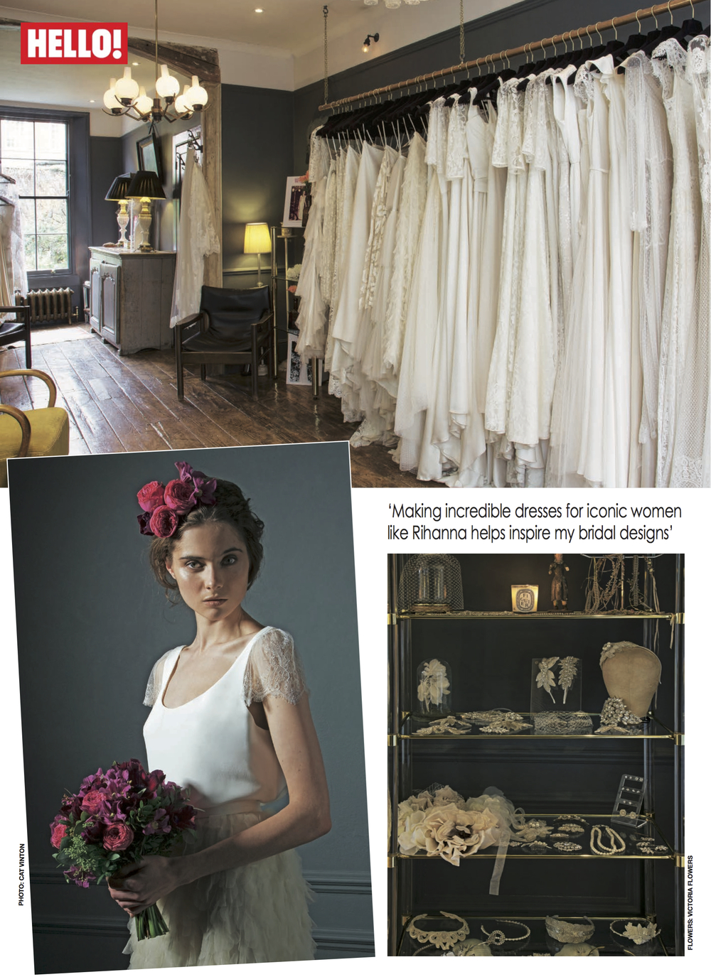 Kate Halfpenny | Halfpenny London in HELLO! Magazine