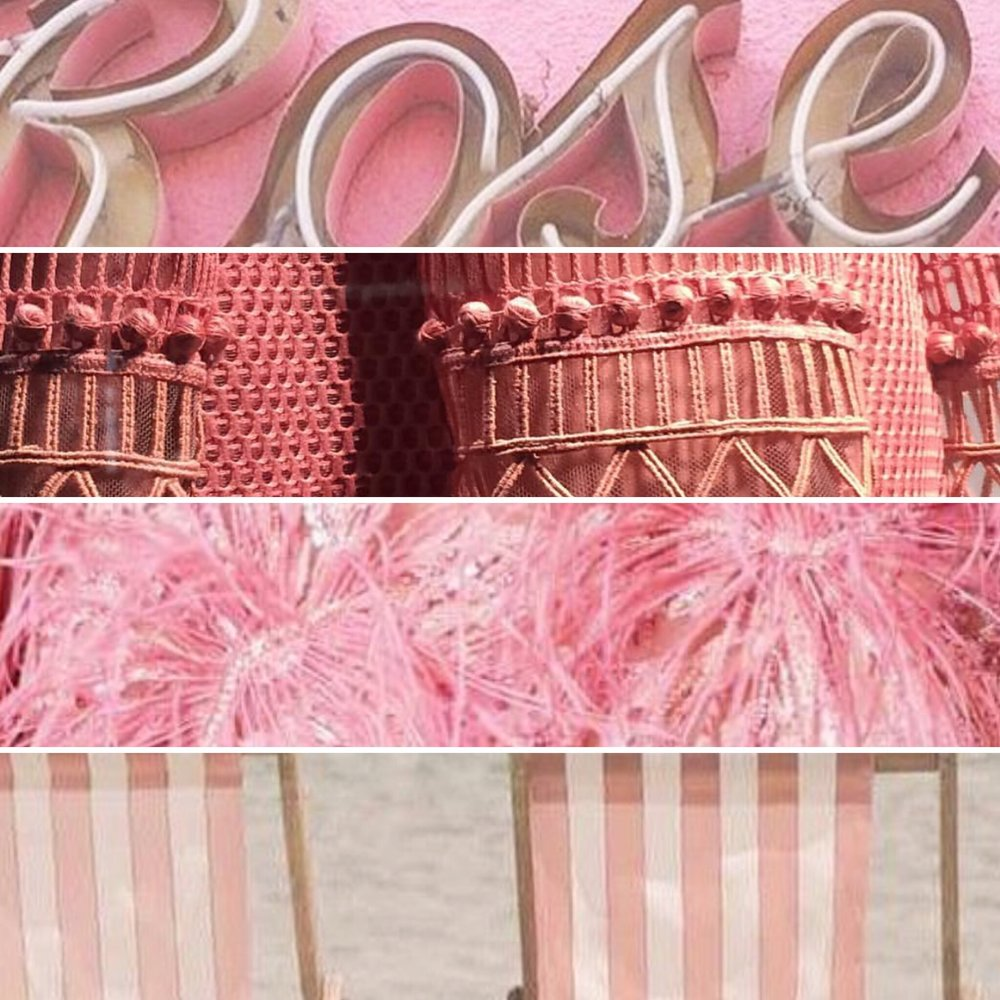 Pretty in pinks.... from neons to deck chair fabrics!