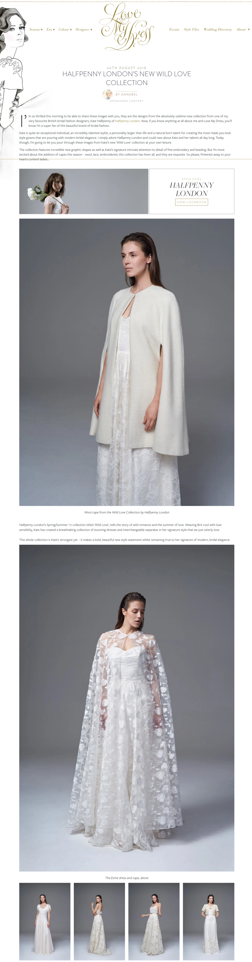 LMD - Halfpenny London's New Wild Love Collection   Love My Dress® UK Wedding Blog.png