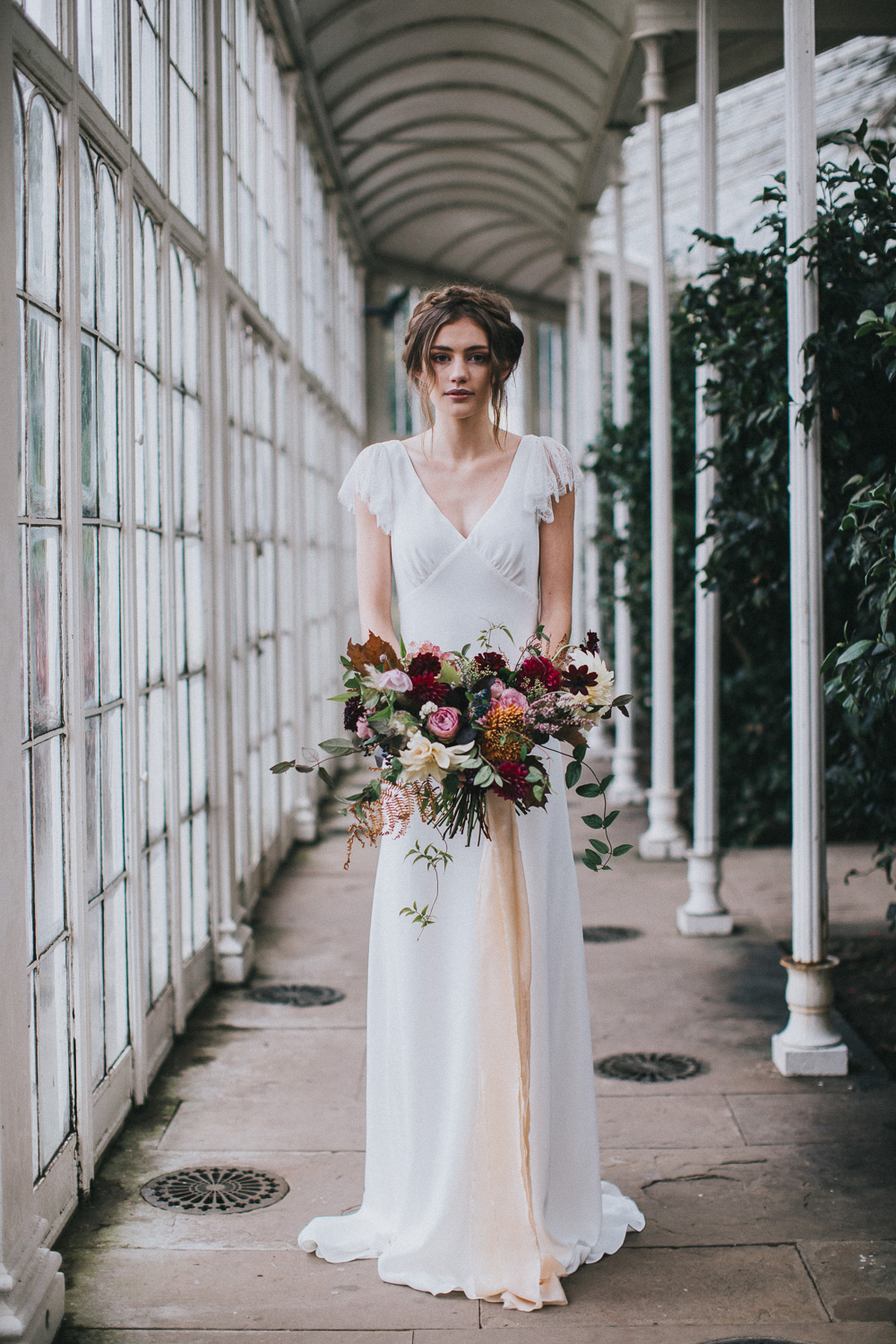 Halfpenny London Vera Frill wedding dress